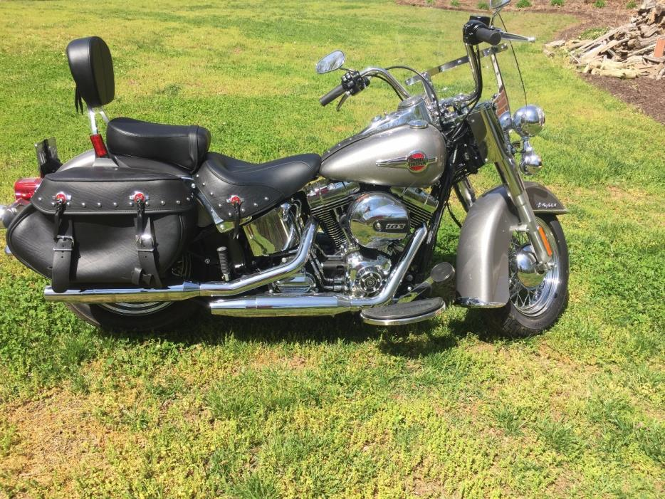 harley davidson heritage softail classic motorcycles for sale in virginia. Black Bedroom Furniture Sets. Home Design Ideas