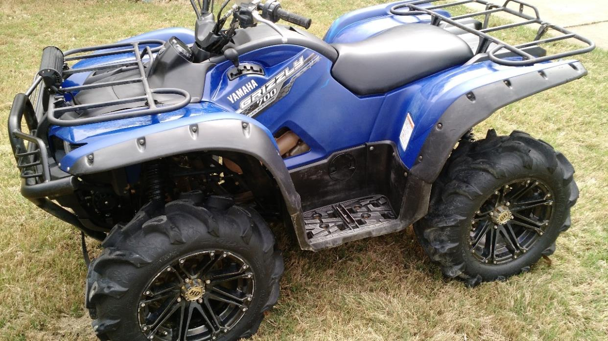 Yamaha grizzly 700 fi auto 4x4 motorcycles for sale for Yamaha grizzly 4x4