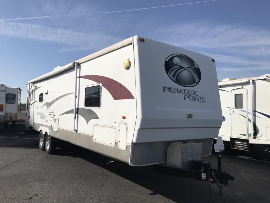 2008 Crossroads Paradise Point 34RL