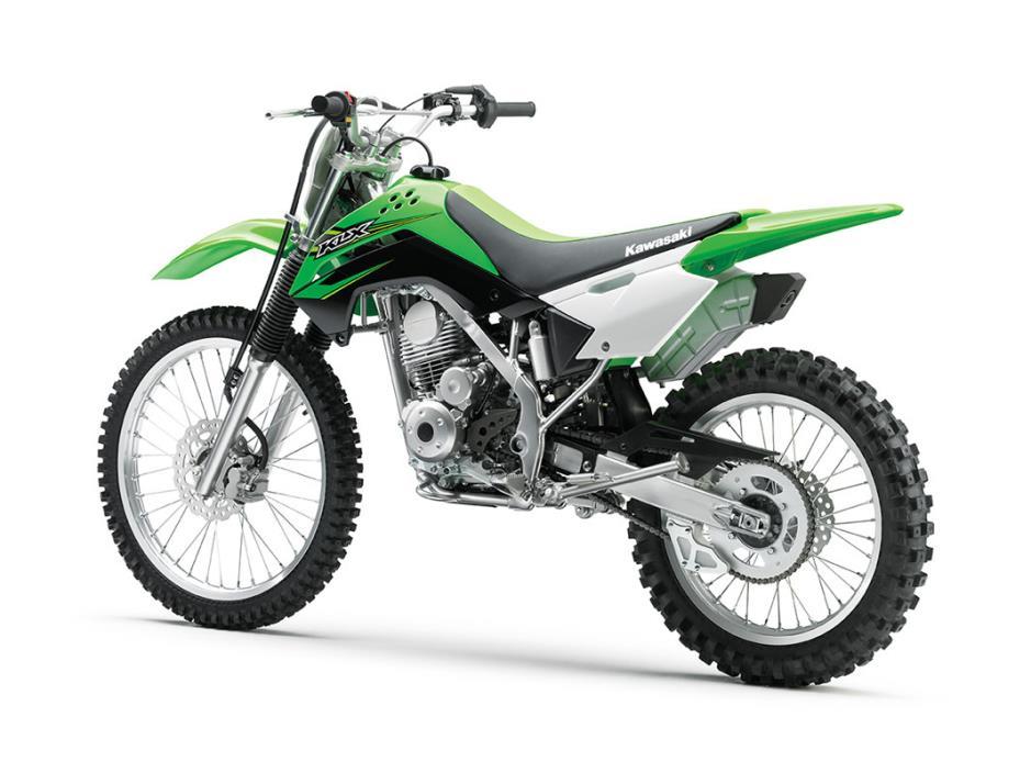 2017 Kawasaki KLX140G, 2