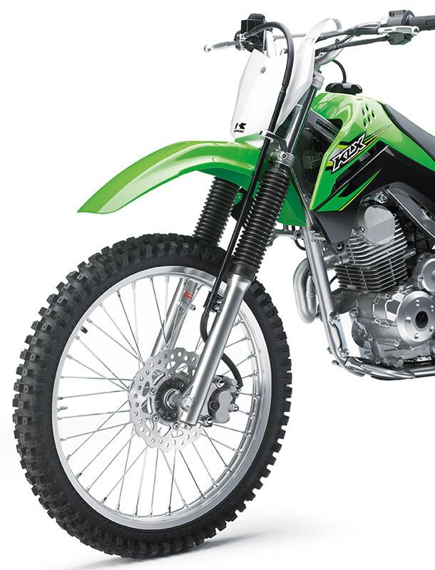 2017 Kawasaki KLX140G, 7