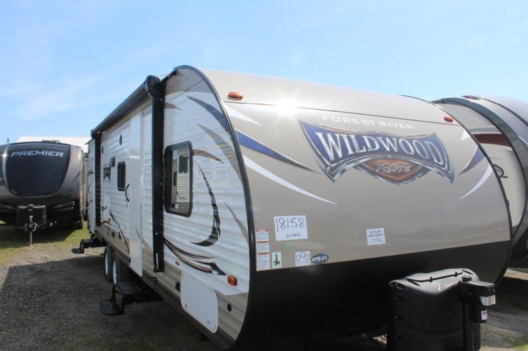 2018 Forest River WILDWOOD 263BHXL