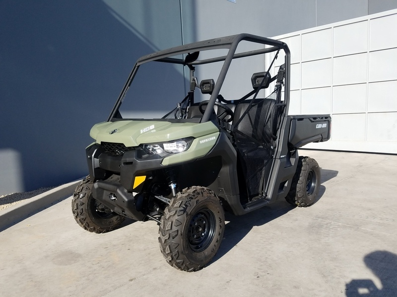 2017 Can-Am Defender HD8 Convenience Package
