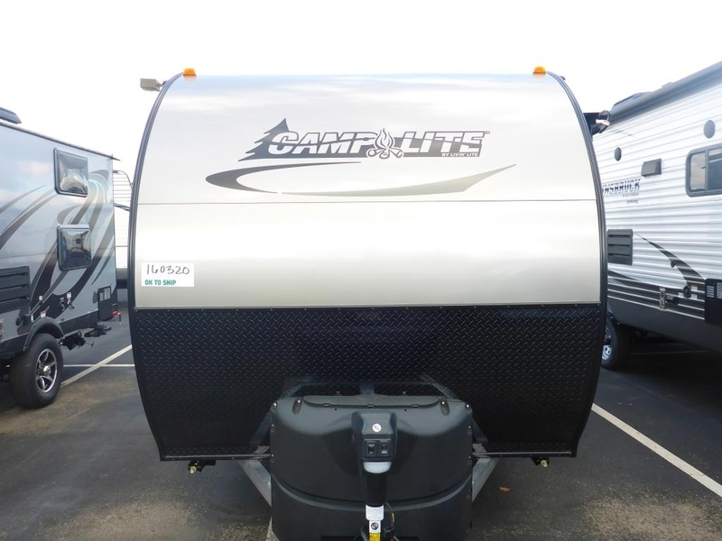 2017 Livinlite CampLite Travel Trailers CL16DBS
