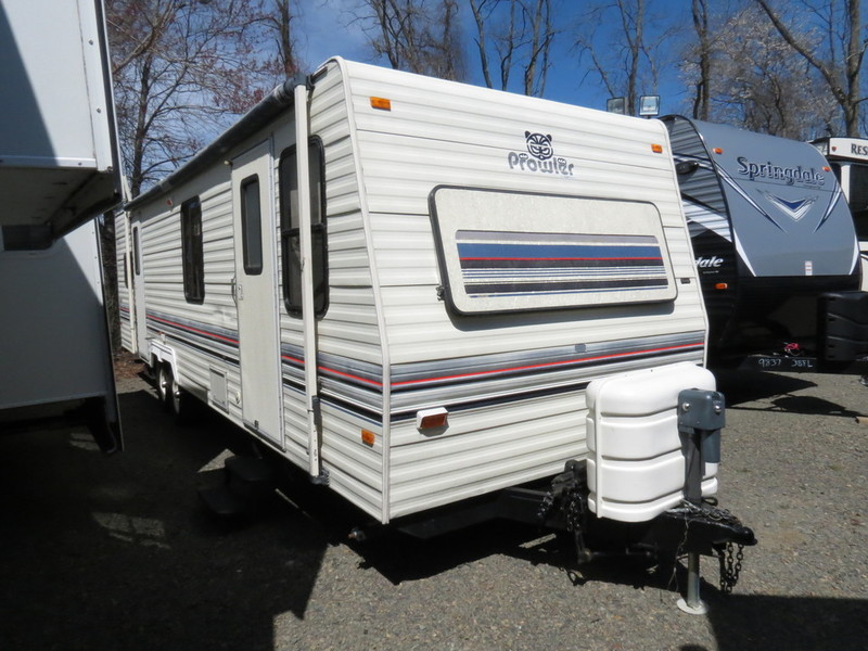 fleetwood prowler 31 rvs for sale rh smartrvguide com Inside of a Travel Trailer 2001 Sundance Modern Travel Trailer Interior