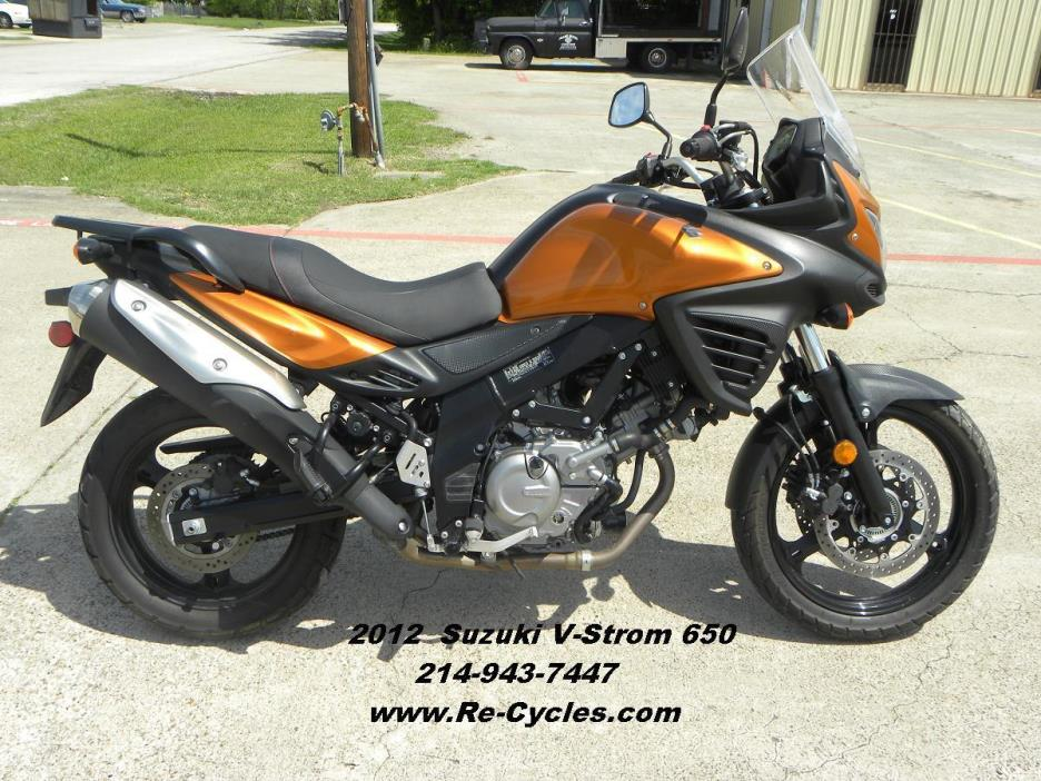suzuki v strom motorcycles for sale in dallas texas. Black Bedroom Furniture Sets. Home Design Ideas
