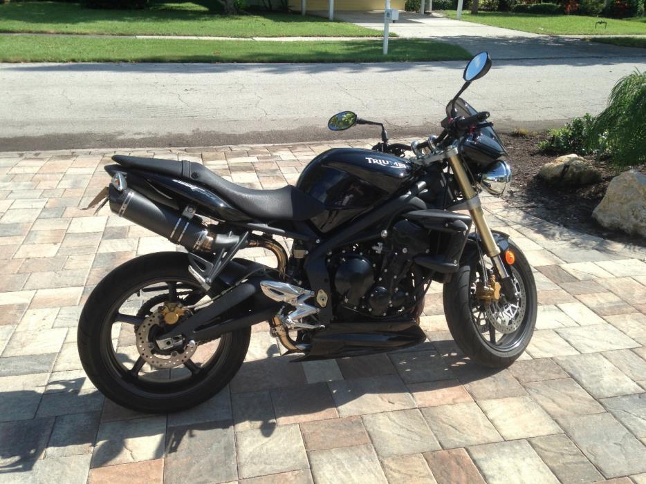 triumph street triple 675 motorcycles for sale. Black Bedroom Furniture Sets. Home Design Ideas