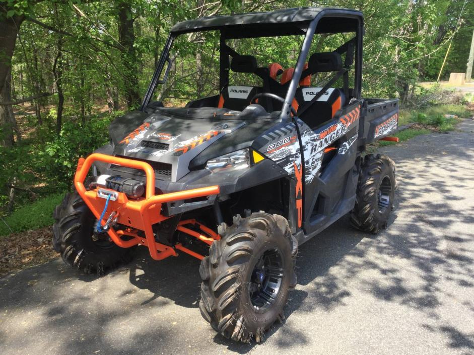 2016 Polaris Ranger XP 900 EPS High Lifter Edition