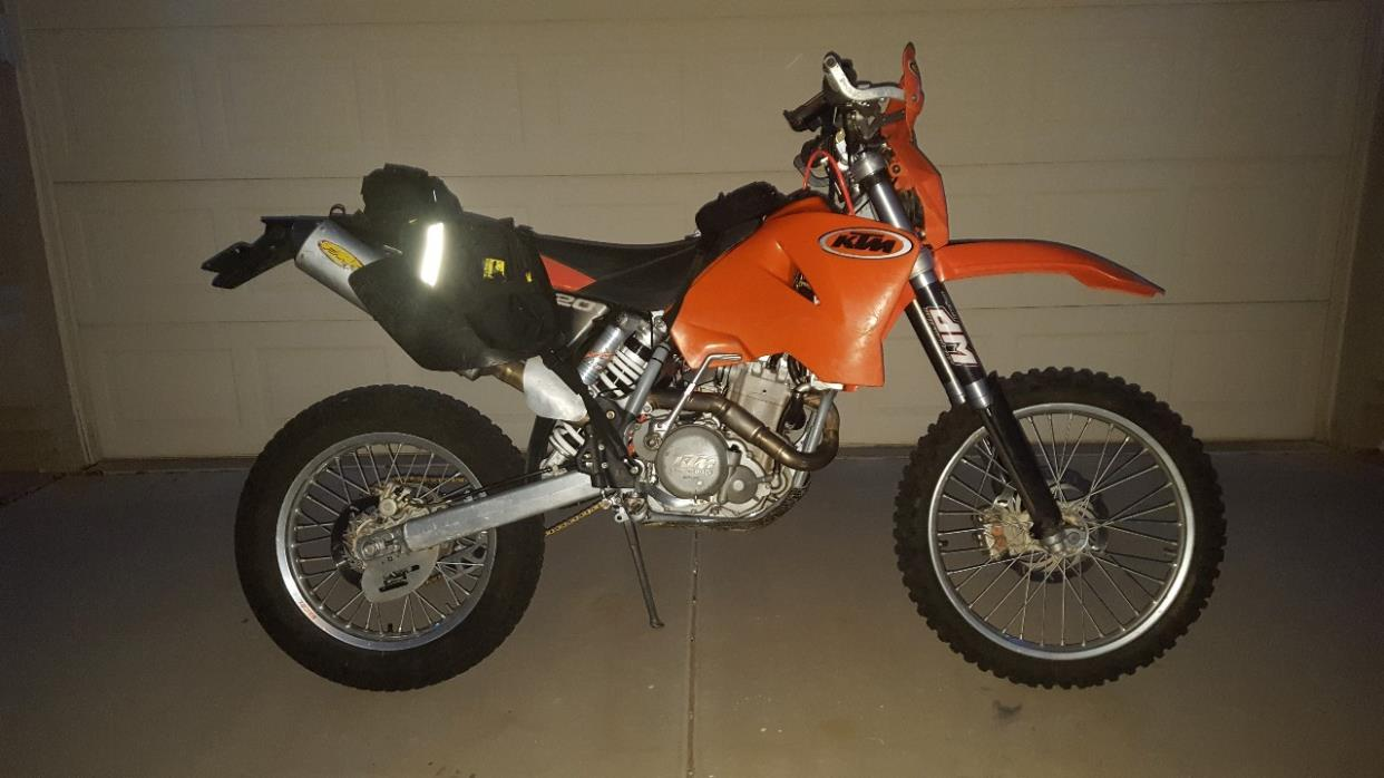 2002 KTM EXC 520