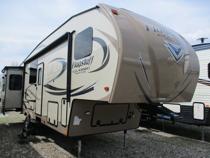 2018 Forest River Flagstaff Classic Super Lite Fifth Wheels 8529RLWS