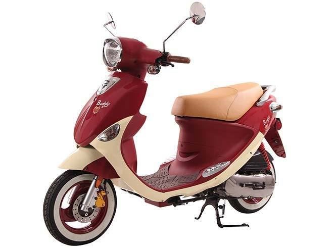 2016 Genuine Scooters Buddy 50 (Little Internationals)