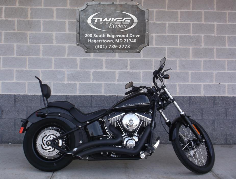 2012 Harley-Davidson FXS Blackline