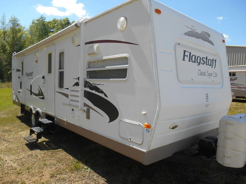 2009 Flagstaff Classic Super Lite 831FKBSS
