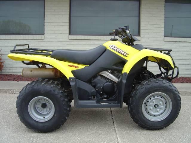 2005 Suzuki Motor Of America Inc. Ozark™ 250 LT-F250