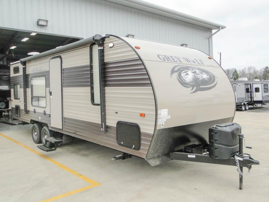 2018 Forest River Grey Wolf 26DJSE Bunk House