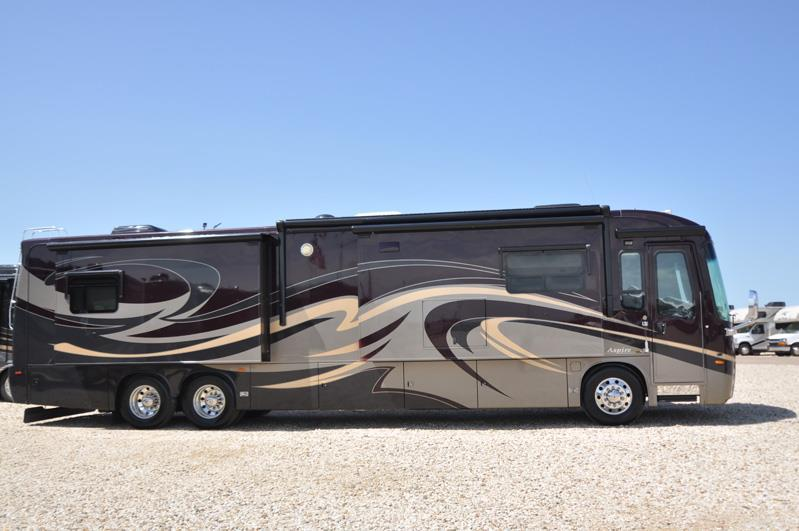 2012 Entegra Coach Aspire 42DLQ W/ 4 Slides, King Size Sleep Number Bed