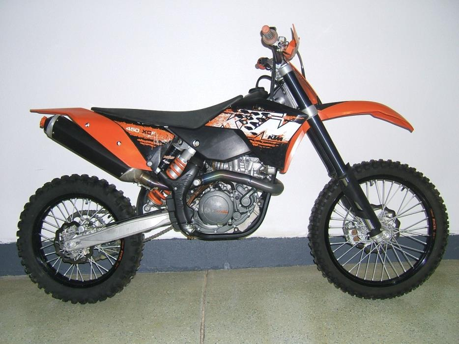 2008 Ktm Xc 450 F Motorcycles for sale