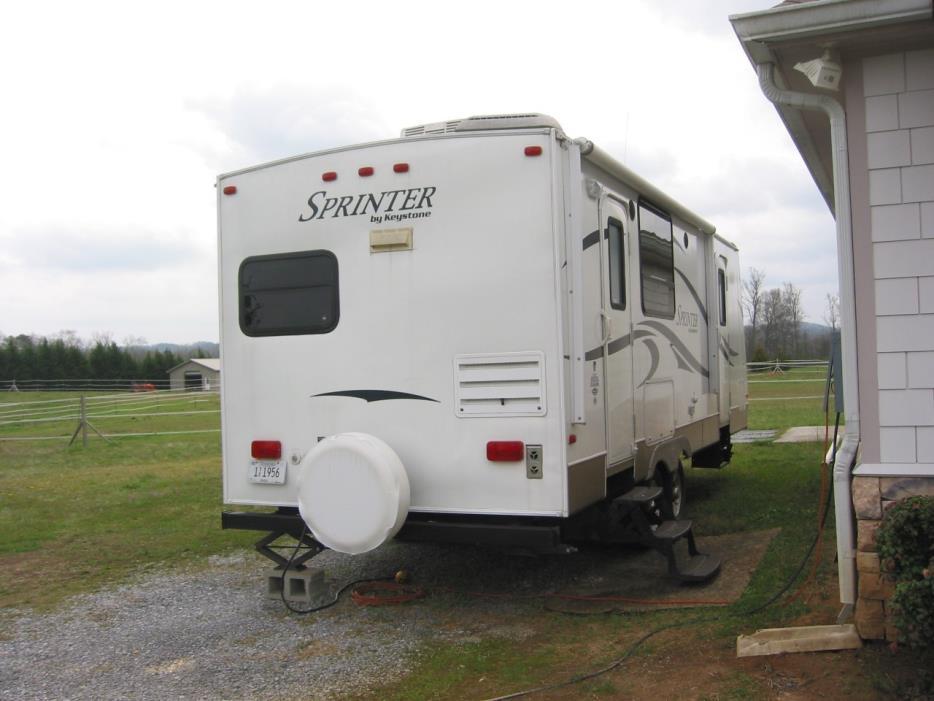 2011 Keystone Sprinter Travel Trailer RVs for sale