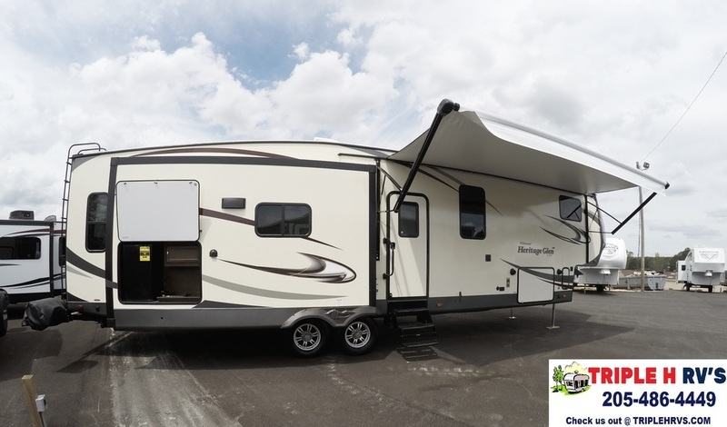 2017 Forest River Wildwood Heritage Glen F386FBK