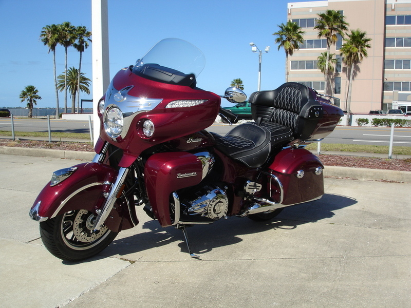 2017 Indian Motorcycle Roadmaster Burgundy Metallic