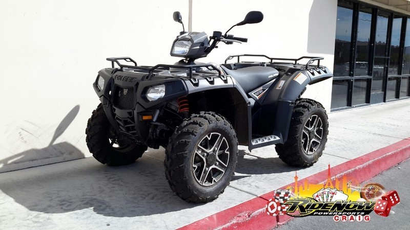 2015 Polaris Sportsman 850 SP EPS Titanium Matte Metallic