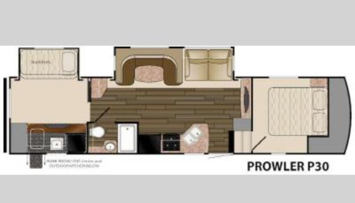 2014 Heartland PROWLER FIFTH WHEELS PROWLER P30