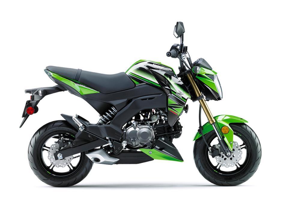 2017 Kawasaki Z125 Pro KRT Edition
