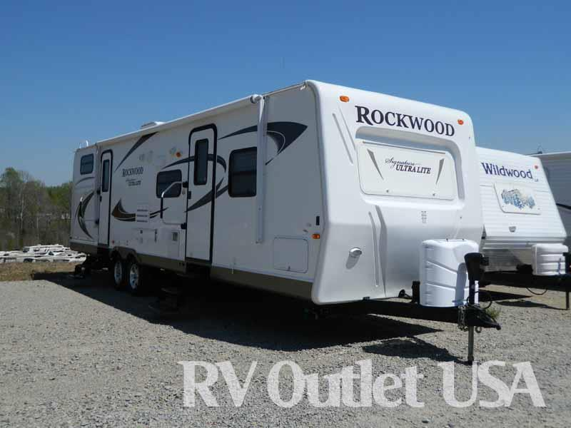 2012 Forest River Rockwood Signature Ultra Lite 8312SS