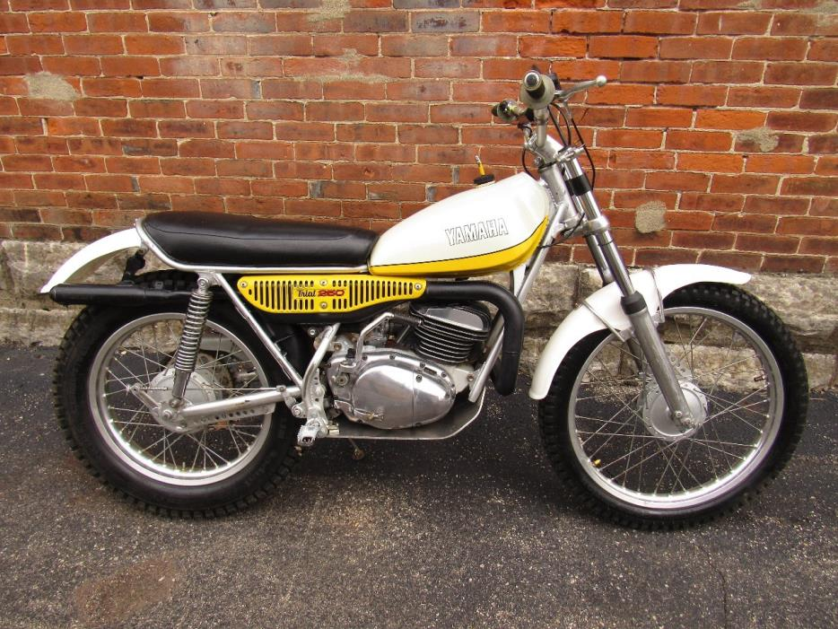 yamaha ty trials parts motorcycles for sale