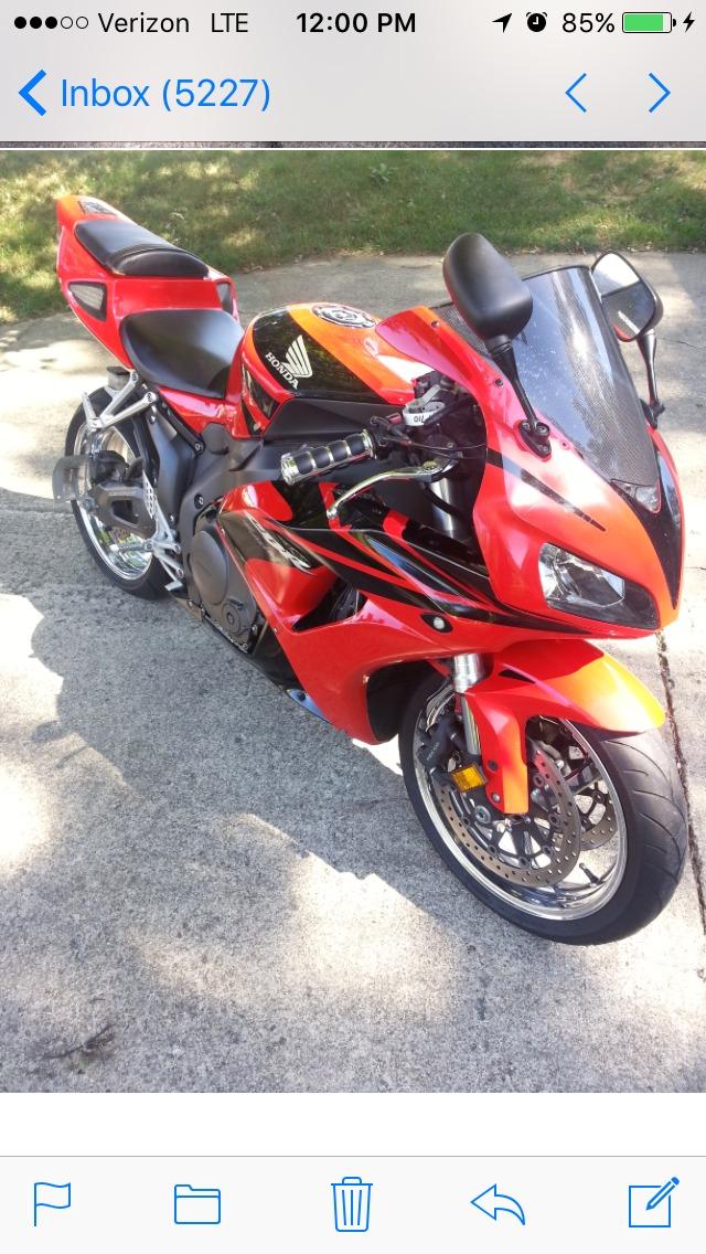 2007 Honda CBR 1000RR