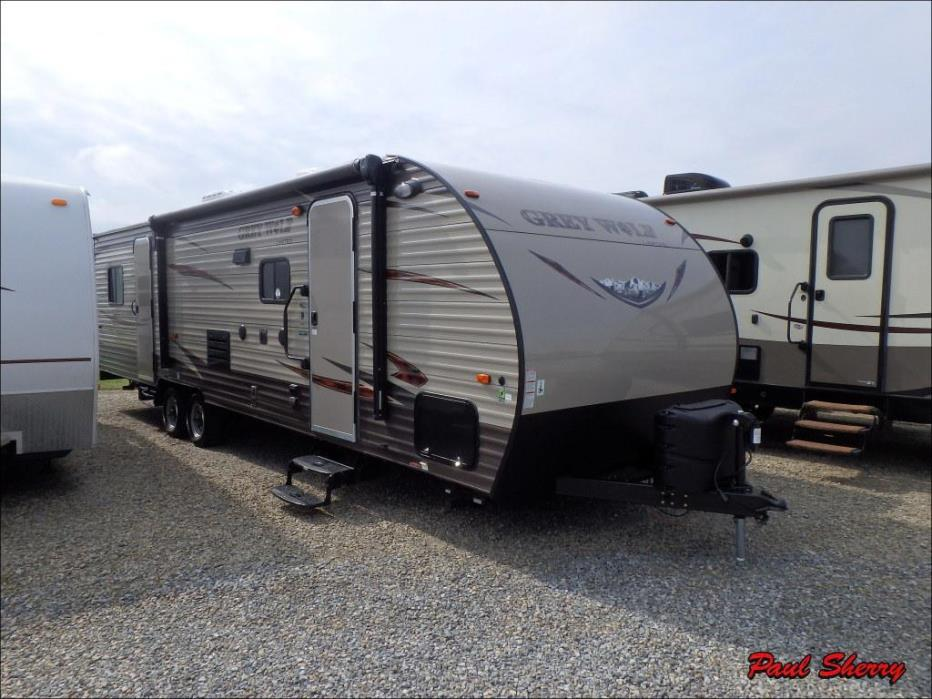 2016 Forest River Grey Wolf 27RR