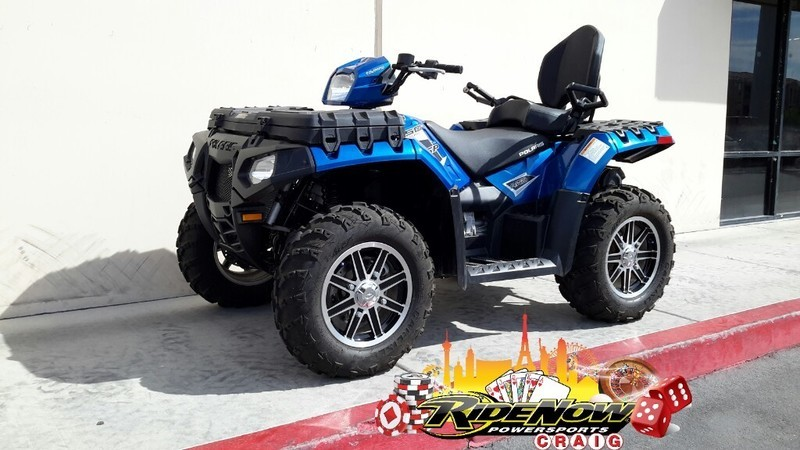 2015 Polaris Sportsman Touring 850 SP EPS Blue Fire