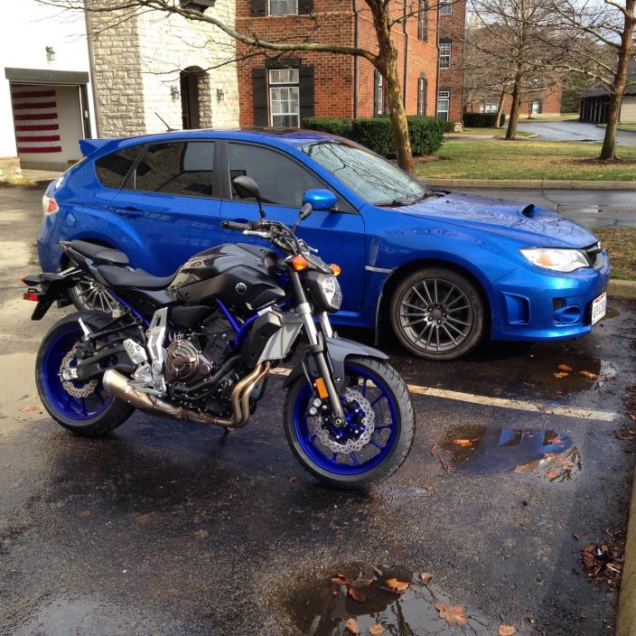 yamaha fz 07 abs motorcycles for sale in columbus ohio. Black Bedroom Furniture Sets. Home Design Ideas