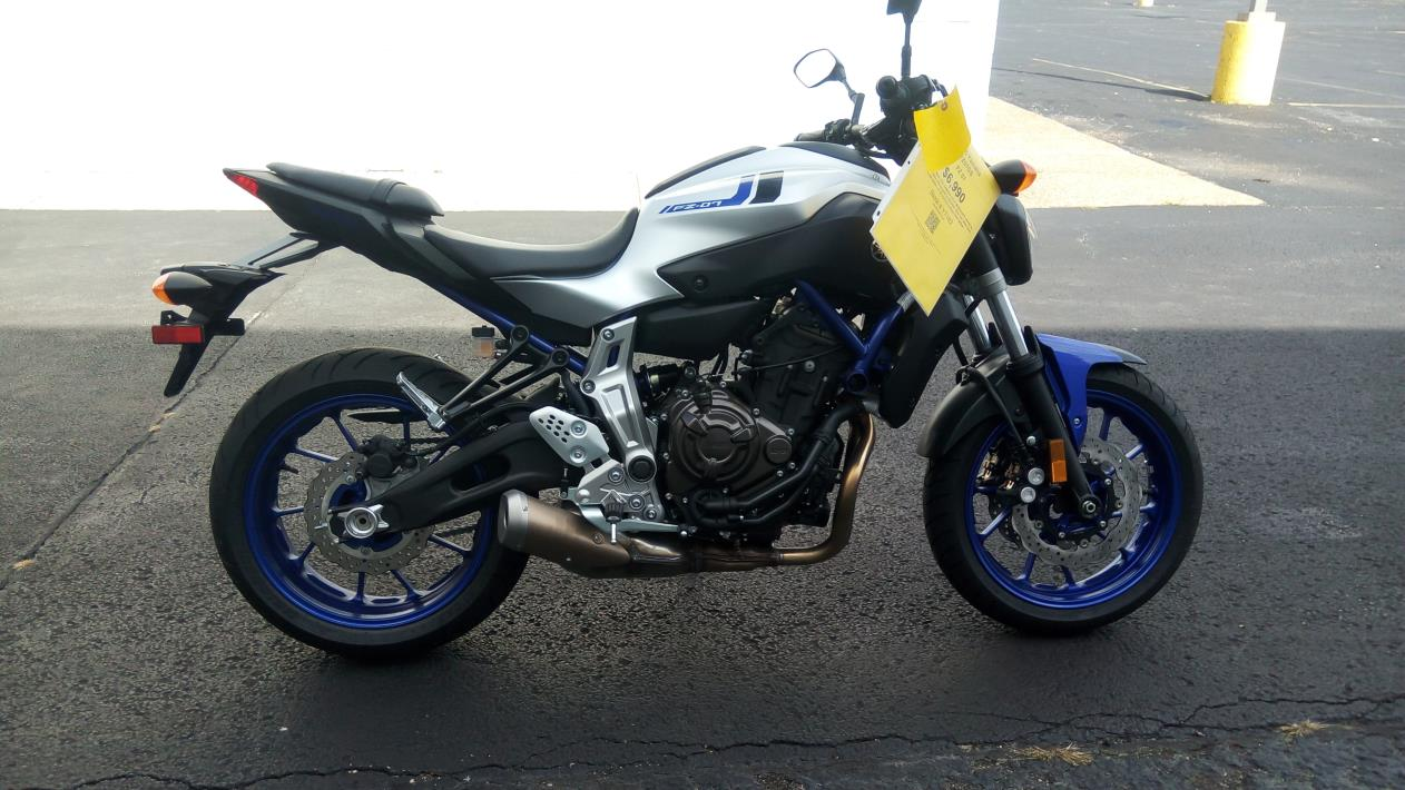 yamaha fz 07 motorcycles for sale in illinois. Black Bedroom Furniture Sets. Home Design Ideas