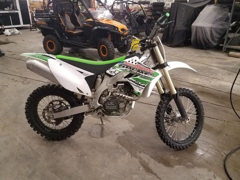 2011 Kawasaki KX 450F