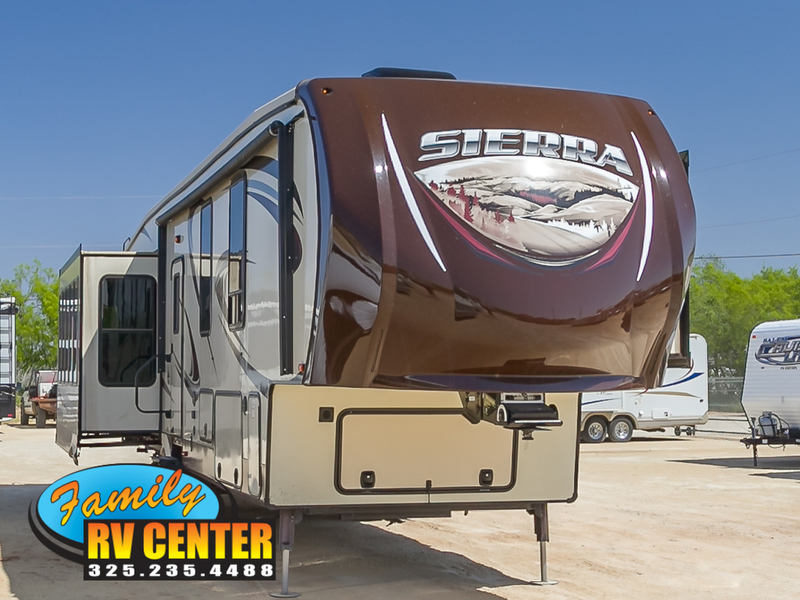 2014 Forest River Sierra 355RE