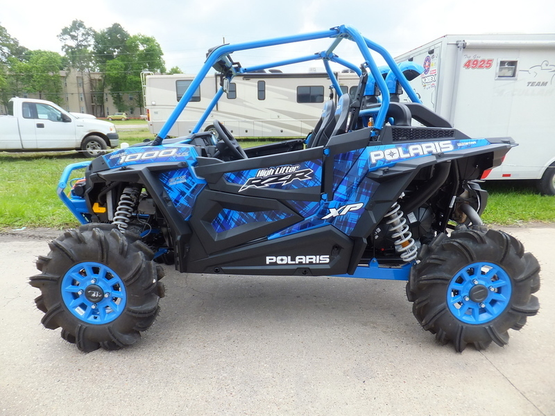 2017 Polaris Rzr Xp 1000 Eps High Lifter Edition Velocity Blue
