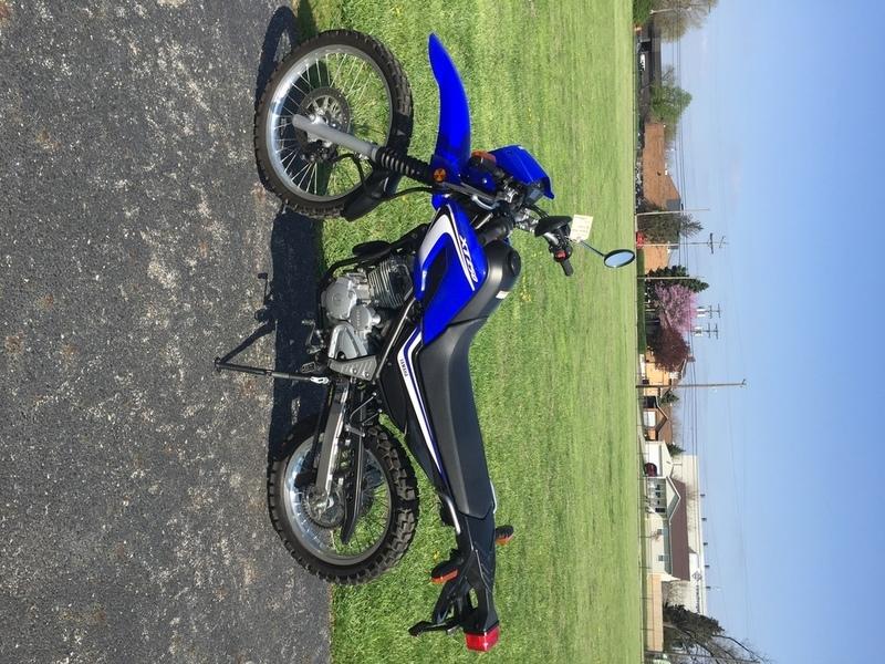 2014 Yamaha XT250
