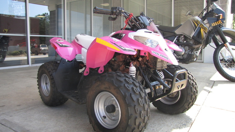 2016 Polaris Outlaw 50 Pink Power