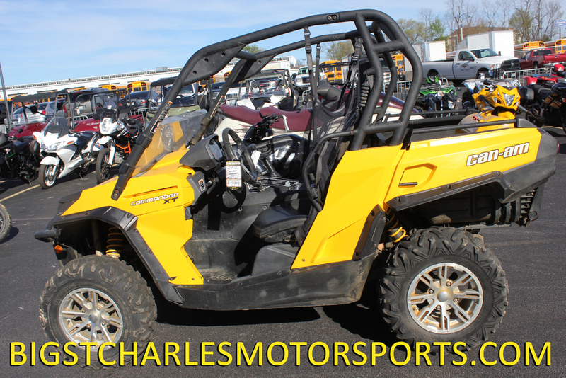 2012 Can-Am Commander XT 1000