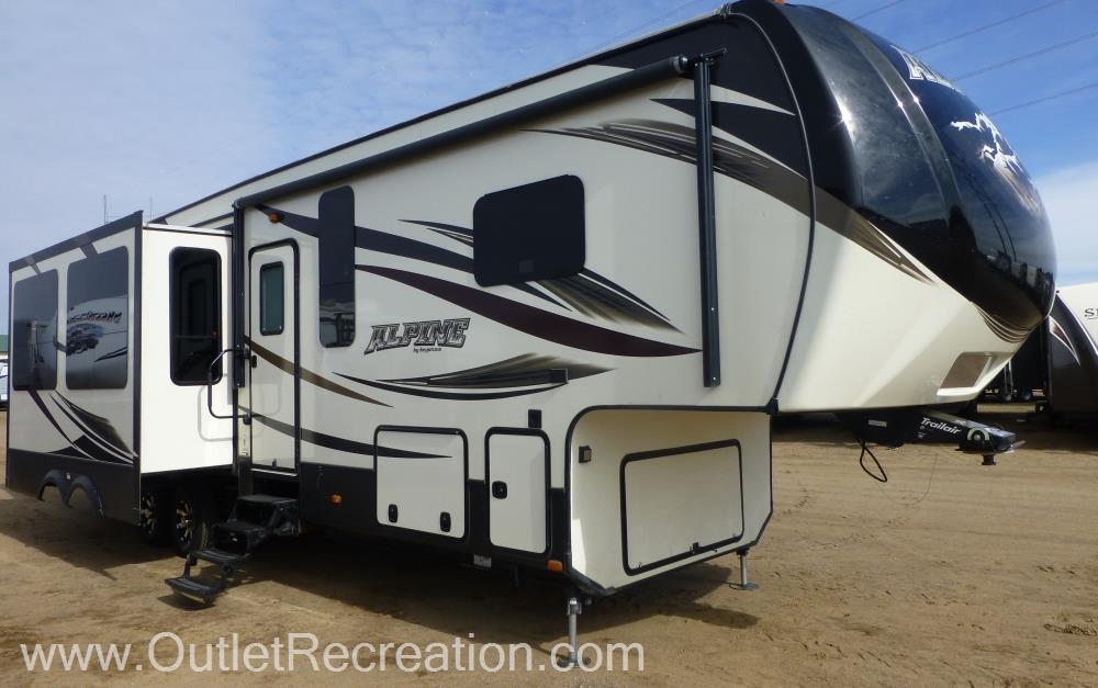 2016 Keystone Alpine3901RE