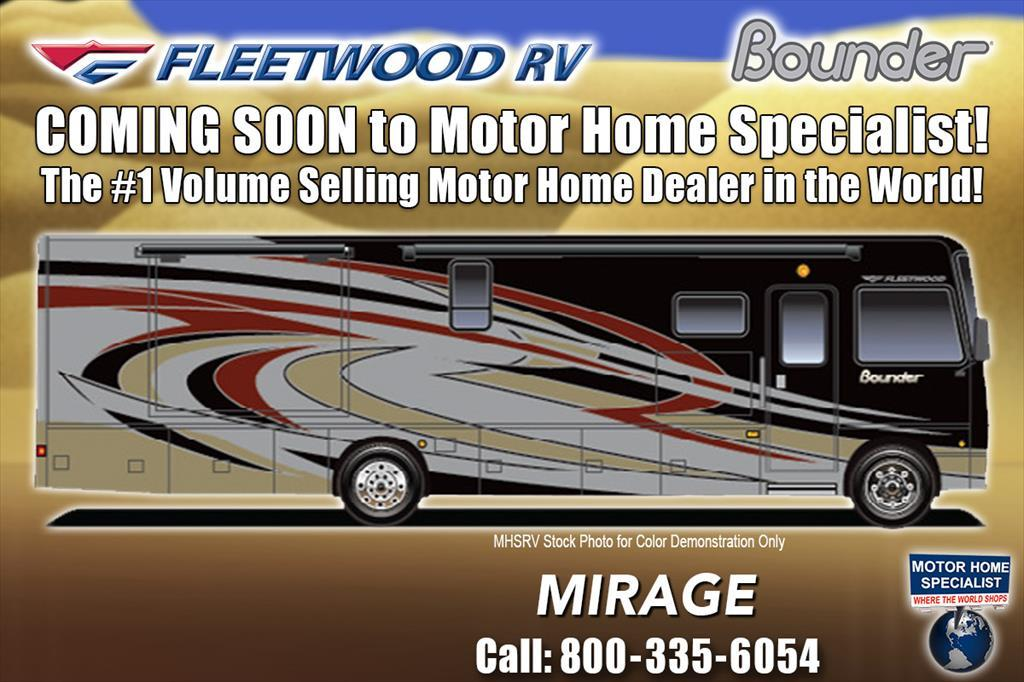 2018 Fleetwood Bounder 35K Bath & 1/2 for Sale W/LX Pkg, King & OH Lof