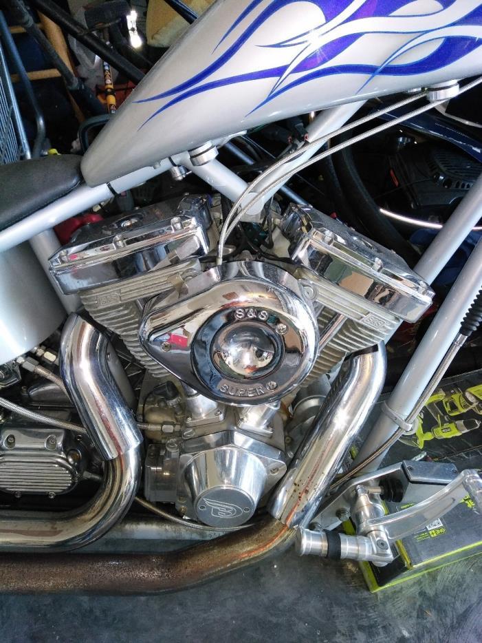 2003 Big Dog Motorcycles CHOPPER SOFTAIL, 3