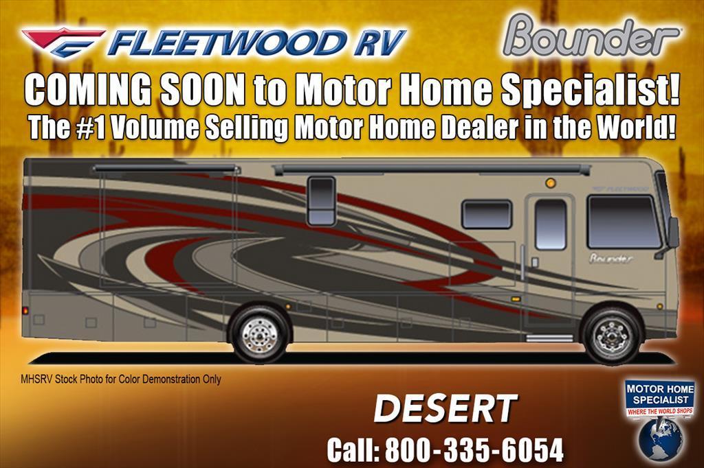 2018 Fleetwood Bounder 33C for Sale @ MHSRV W/LX Pkg, King, Sat, OH Lo