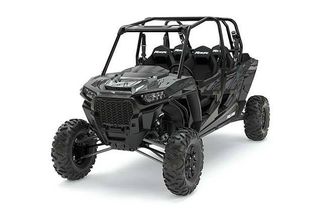 2017 Polaris RZR XP TURBO EPS TITANIUM MATTE ME