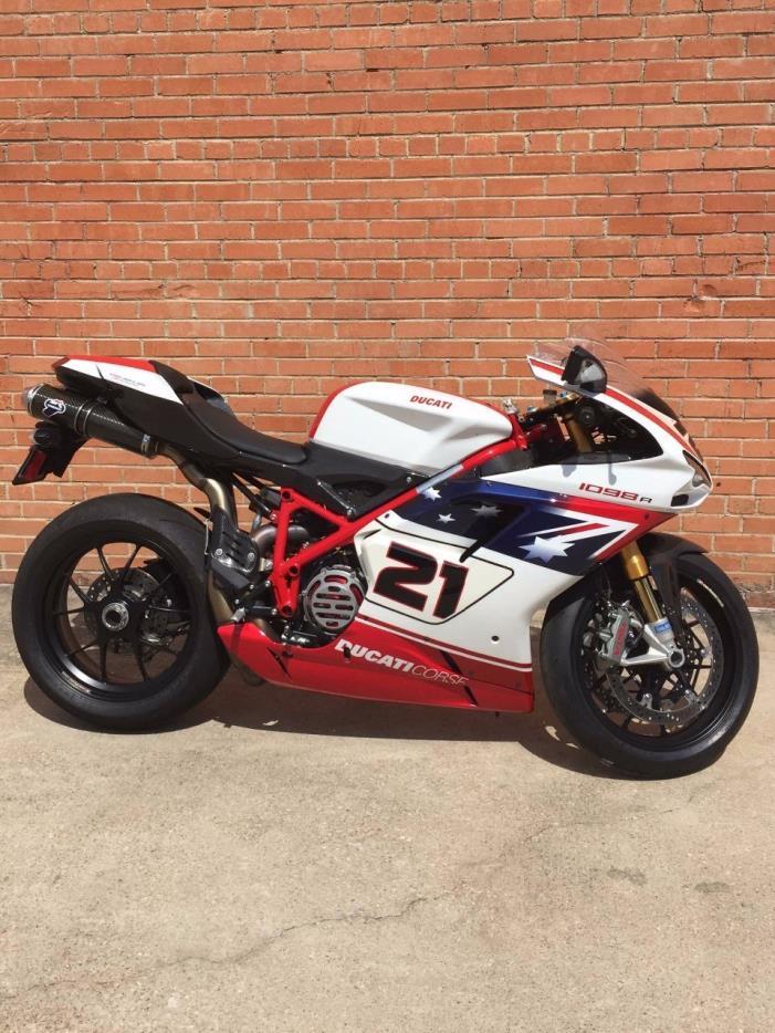 2009 Ducati 1098R Bayliss 101 500