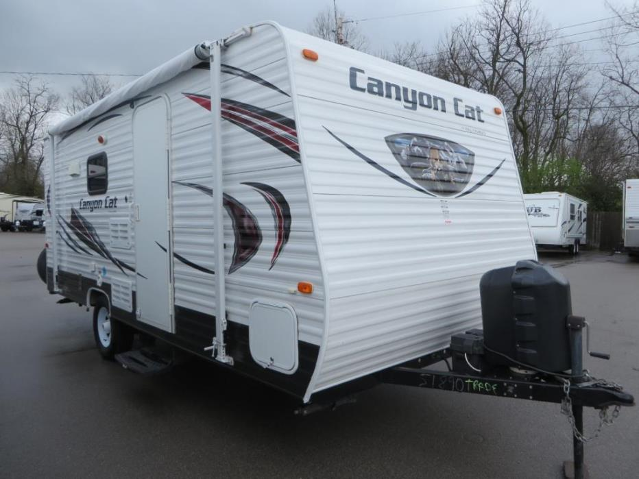 2015 Palomino Canyon Cat 17 QBC