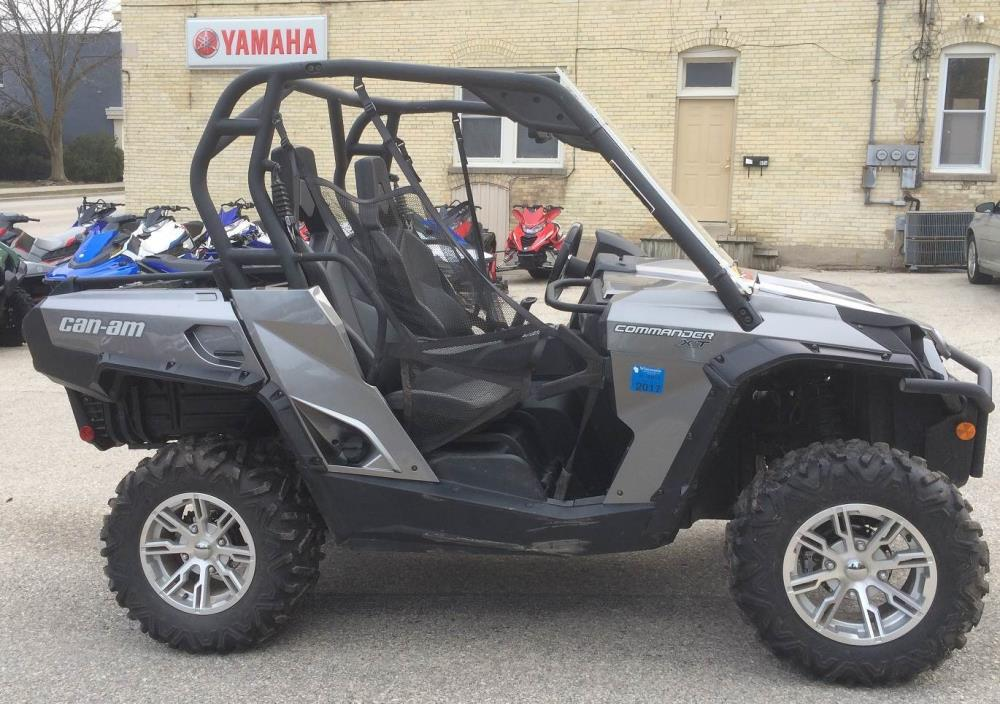2012 Can-Am Commander™ 1000 XT