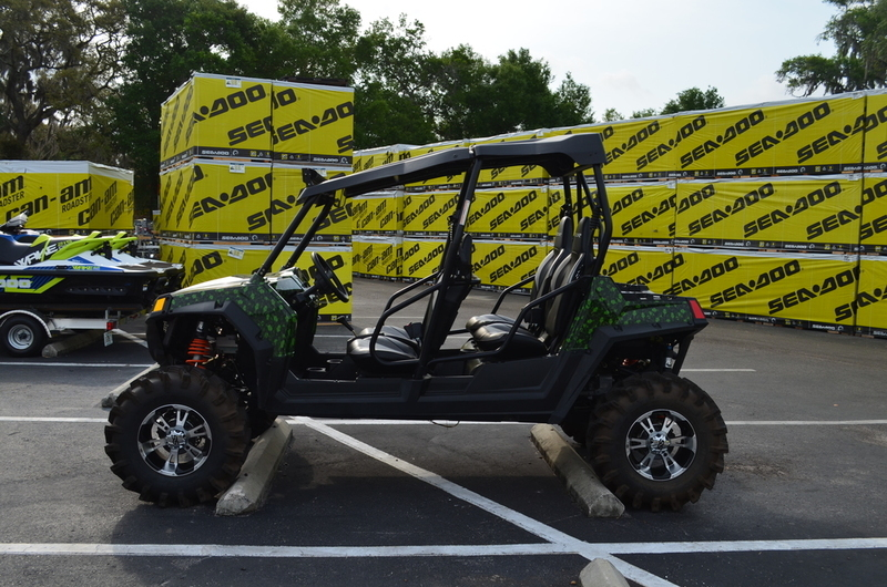 2013 Polaris RZR 4 800 Indy Red