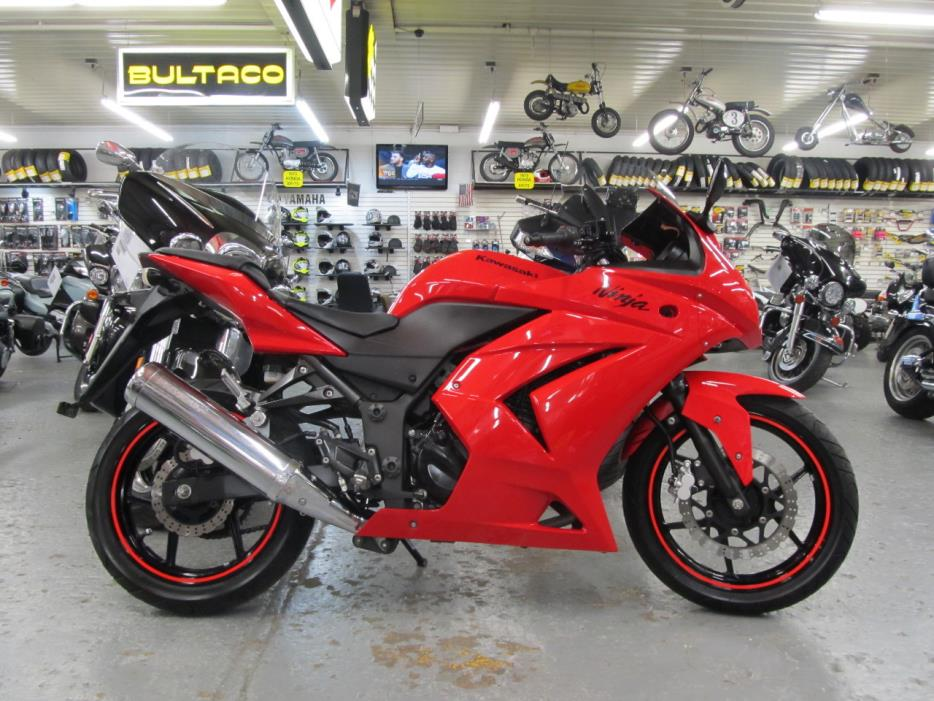 2009 Kawasaki EX 250 Ninja